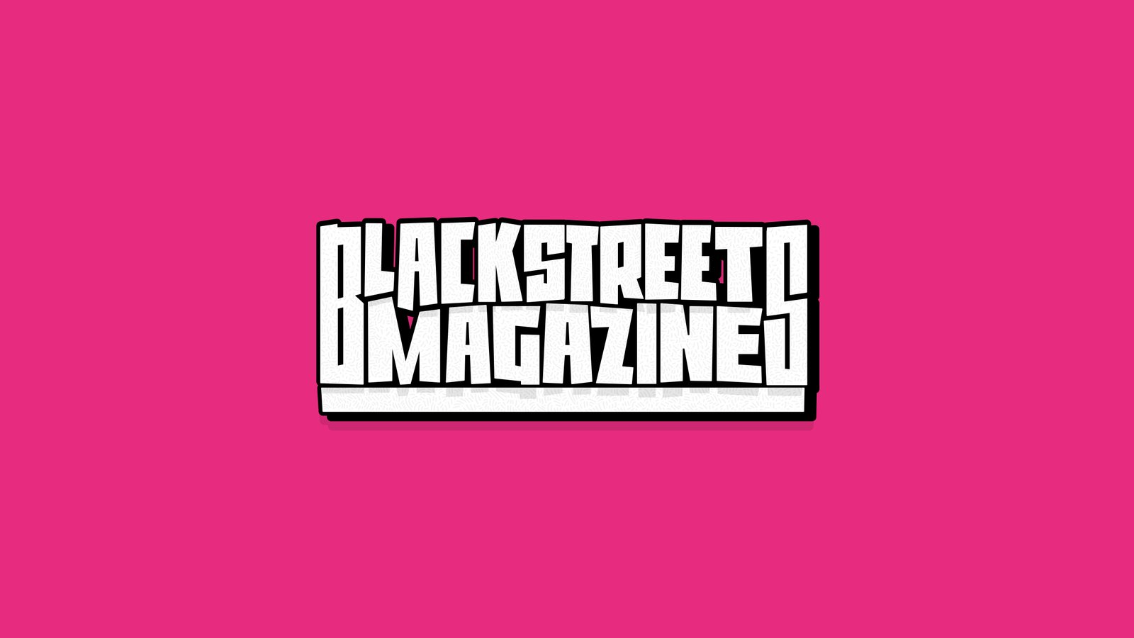 Blackstreets Magazine - New Sticker Yeah!